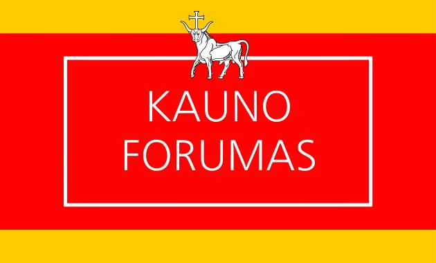 Kauno forumo vėliava