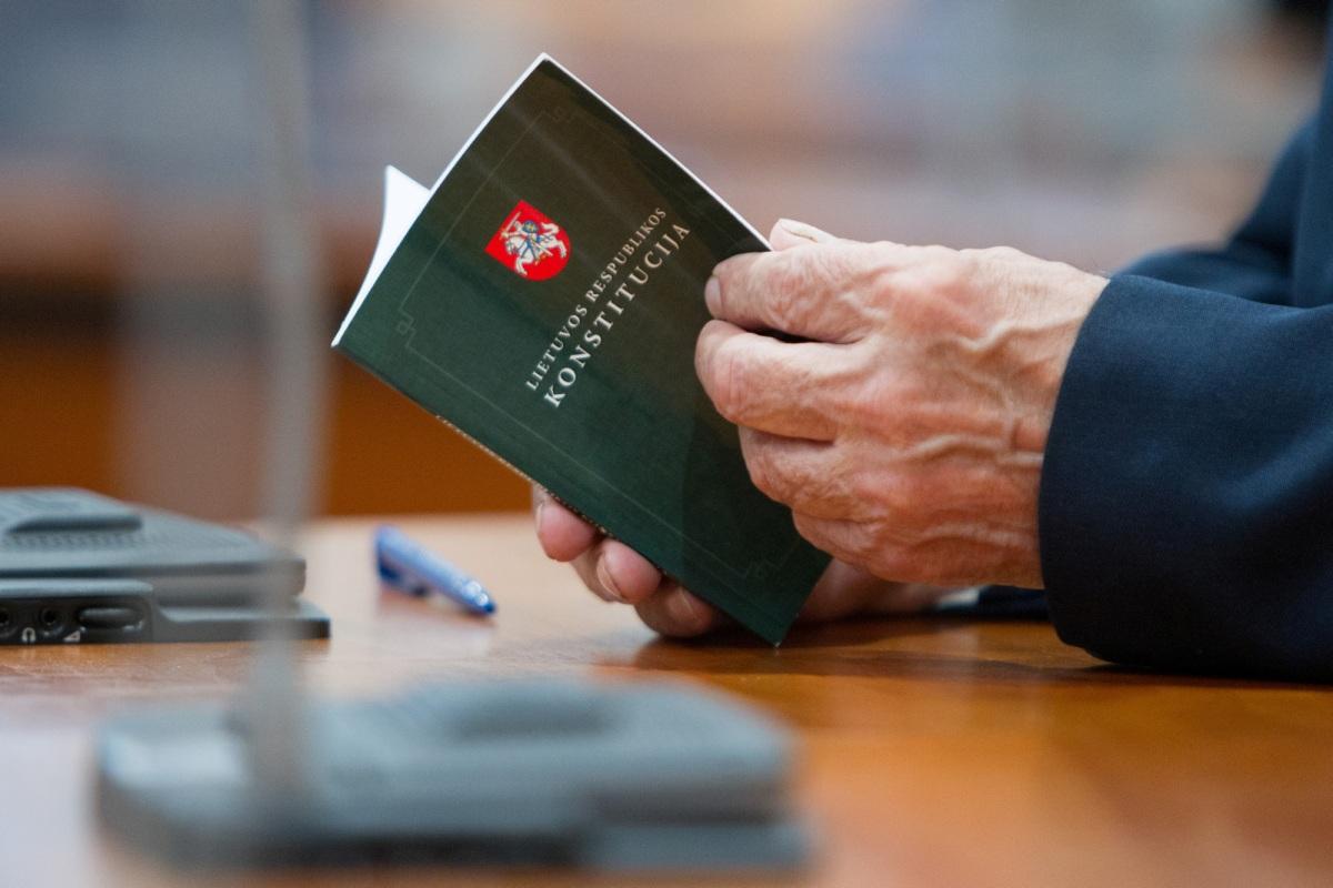 DALIUS STANCIKAS: Konstitucinis perversmas