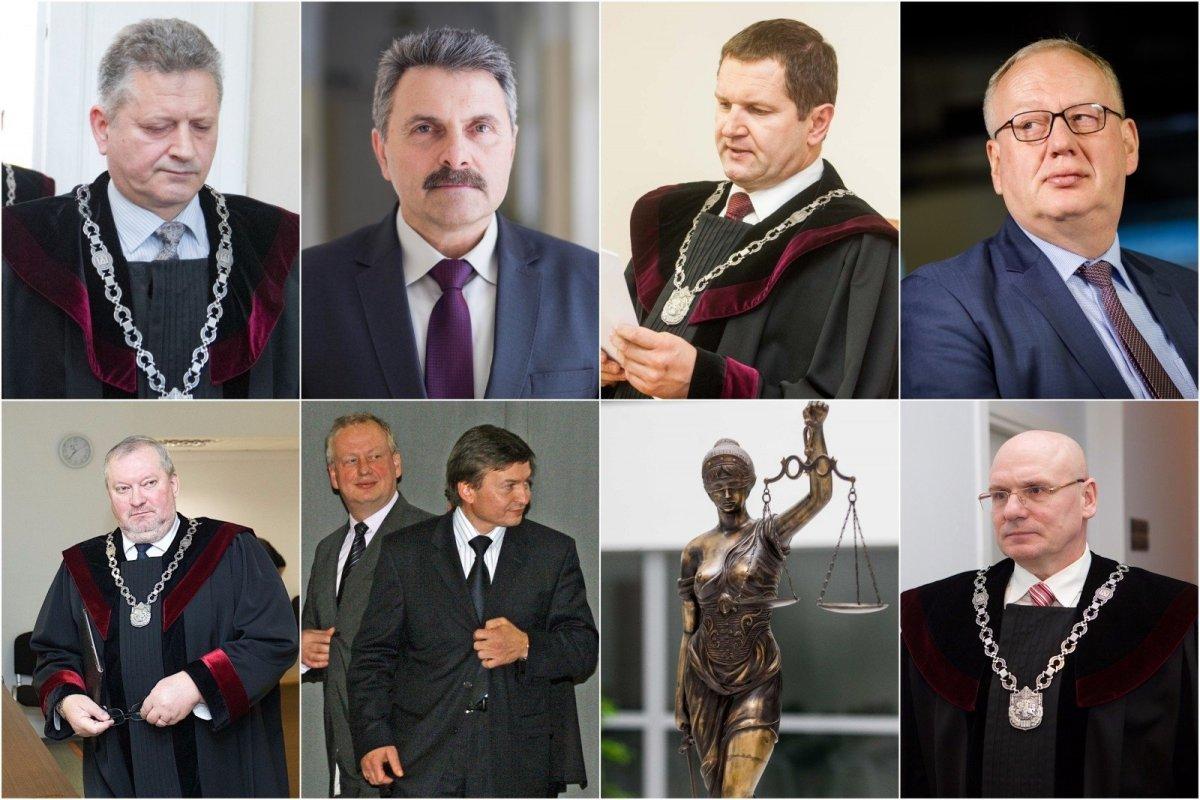 ALGIMANTAS RUSTEIKA: Pats metas padidinti teisėjų algas