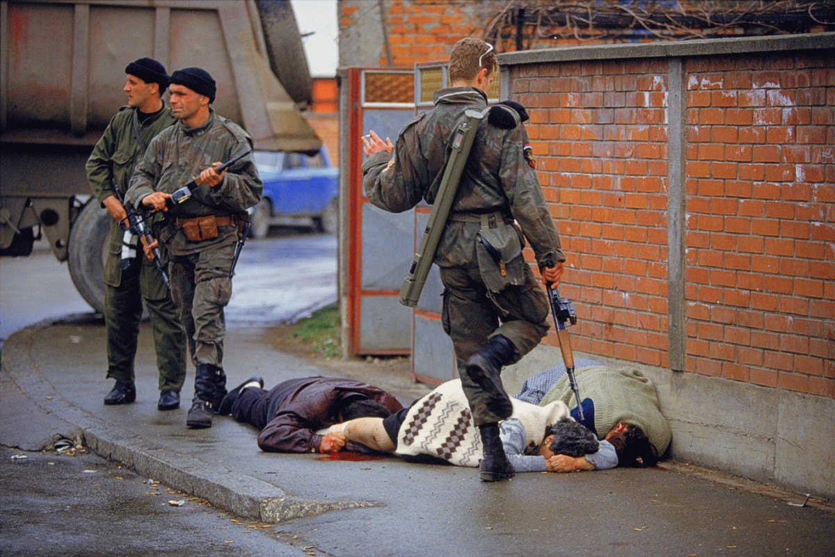 Valstybė, atimanti ginklus iš žmonių karo atveju, yra pasmerkta