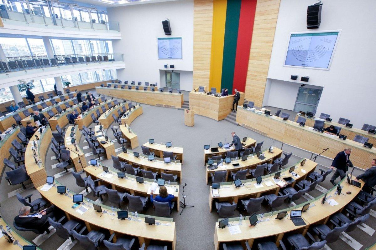 Dėl Seimo narių skaičiaus