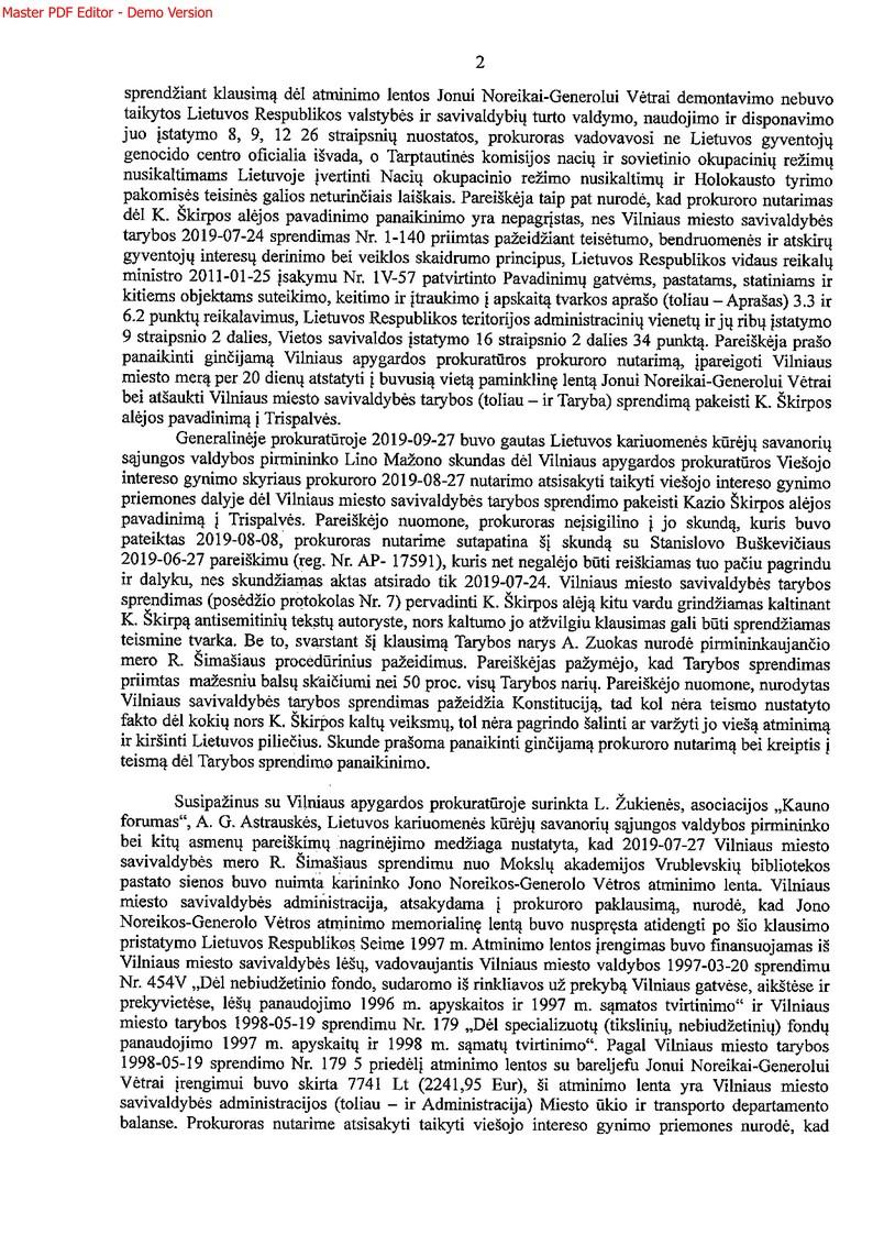 Generalinės prokuratūros nutarimas_2